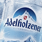 Landor Designed Bottle and Label for Adelholzener Mineral Water